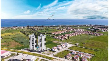 Iskele Twin Towers, flott lite anlegg ved Long Beach